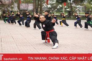 Võ sư Hà Tĩnh dạy võ miễn phí cho học sinh nông thôn