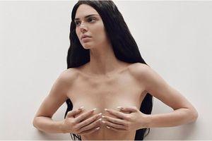Kendall Jenner chụp ảnh thời trang bán khỏa thân quyến rũ