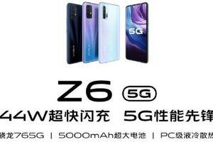 Vivo Z6 5G sẽ trình làng với Snapdragon 765G SoC và pin 5.000 mAh