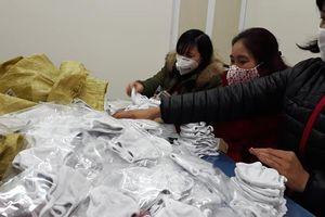 Viantex tiếp tục phát miễn phí 6.000 chiếc khẩu trang vải kháng khuẩn