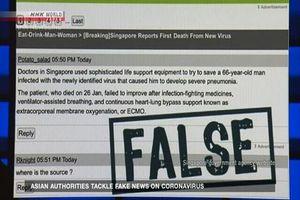 'Thuốc đặc trị' ngăn chặn tin giả thời dịch Covid-19