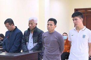100 tháng tù cho các đối tượng 'Chống người thi hành công vụ'
