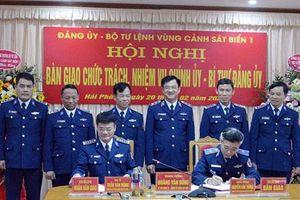 Quân ủy Trung ương bổ nhiệm Chính ủy, Bí thư Đảng ủy Vùng Cảnh sát biển 1