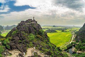 Lượng du khách đến thăm Ninh Bình khởi sắc trở lại