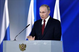 Tổng thống Putin tuyên bố Nga sẽ tiếp tục hiện đại hóa quân đội