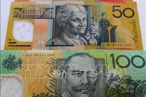 Đồng nội tệ Australia trượt giá kỷ lục
