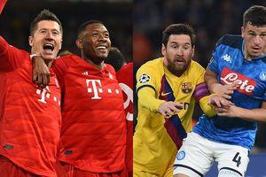 Champions League: Bayern vùi dập Chelsea, Barca thoát thua Napoli