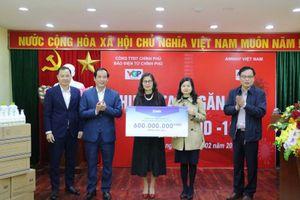 Amway Việt Nam chung tay phòng, chống dịch COVID-19