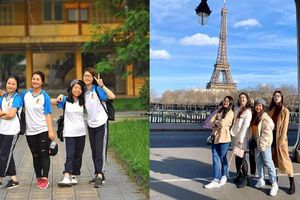 Cùng tốt nghiệp Đại học Bách Khoa Hà Nội, hội bạn thân 'nhà người ta' tiếp tục rủ nhau sang Pháp học Thạc sĩ