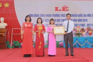 Phú Thọ: Trường THCS Vân Lĩnh nỗ lực xây dựng trường chuẩn Quốc gia