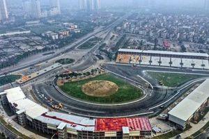 Cận cảnh đường đua F1 tại Hà Nội