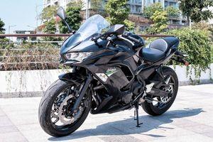 Kawasaki Ninja 650 2020 giá 197 triệu đồng tại Việt Nam