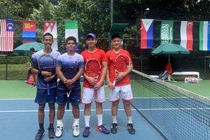 ĐT quần vợt trẻ Việt Nam vào vòng loại trực tiếp với tư cách nhì bảng