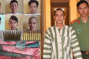 Công an tỉnh Gia Lai bắt giữ 7 nghi can tàng trữ vũ khí quân dụng