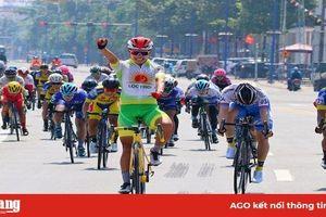 Giải xe đạp nữ quốc tế Bình Dương cúp Biwase lần X-2020: Nguyễn Thị Thật đoạt cú đúp áo vàng và áo xanh chặng đầu tiên