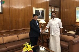 Việt Nam - Ấn Độ thúc đẩy hợp tác giao thương