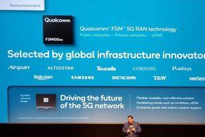 Các công ty cơ sở hạ tầng di động toàn cầu lựa chọn công nghệ 5G RAN của Qualcomm