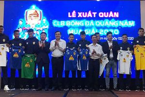 Cựu vương Quảng Nam đặt chỉ tiêu lọt vào top 8 V-League