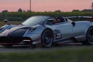 Pagani làm phim tài liệu về 'thần gió' Huayra Roadster BC