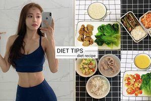 Hot girl xứ Hàn gây sốt khi bày cách giảm 10kg chỉ trong 2 tháng