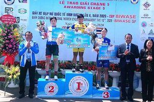 Jutatip (Thái Lan) về nhất chặng 5 Giải xe đạp nữ quốc tế Bình Dương