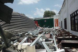 Kiểm điểm rút kinh nghiệm vụ sập mái hội trường 250 chỗ ở Hậu Giang