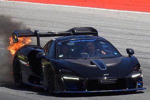 Liên tiếp nhiều siêu xe McLaren Senna bốc cháy chưa rõ nguyên nhân