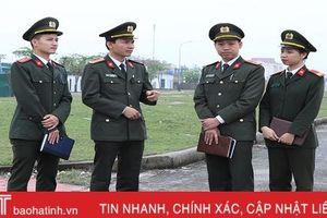 Trung tá Bùi Trọng Thu: 'Phần thưởng lớn nhất là được dân quý, dân tin'