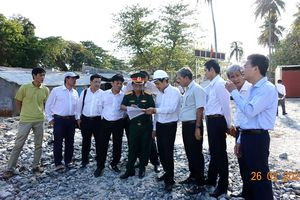 EVN SPC chuẩn bị tiếp nhận hệ thống lưới điện trên đảo Thổ Chu