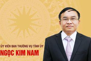 Chân dung tân Ủy viên Ban Thường vụ Tỉnh ủy Ngọc Kim Nam