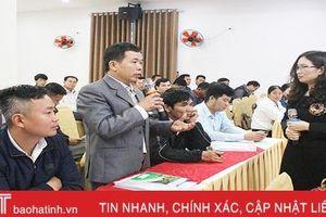 HTX, doanh nghiệp Hà Tĩnh học cách tổ chức sản xuất, đưa sản phẩm đến tay khách hàng