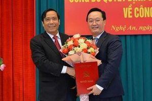 Thứ trưởng Bộ Kế hoạch đầu tư giữ chức Phó bí thư Tỉnh ủy Nghệ An