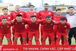 Hồng Lĩnh Hà Tĩnh 'chơi' linh hoạt, quyết giành chiến thắng trận đầu V.League trước Viettel