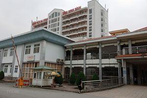Hình ảnh khu cách ly bệnh nhân COVID-19 thứ 18 tại Ninh Bình