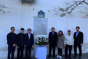 Đại sứ quán Việt Nam tưởng niệm các nhà báo Algeria hy sinh ở Việt Nam