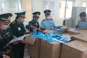 Hơn 164.000 khẩu trang y tế không có hóa đơn trên đường sang Campuchia