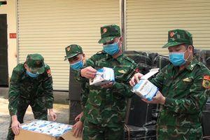 Biên phòng Lạng Sơn bắt giữ 50.000 khẩu trang y tế xuất lậu qua biên giới