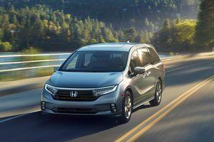 Honda Odyssey 2021 ra mắt - thiết kế không đẹp, tập trung vào an toàn