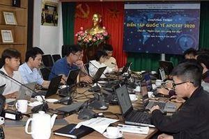 Diễn tập ứng cứu sự cố an toàn thông tin mạng quốc tế