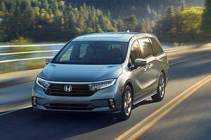Ra mắt xe Honda Odyssey 2021 nâng cấp an toàn hơn