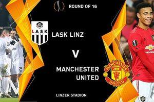 Danh sách 20 cầu thủ MU hành quân tới làm khách LASK ở Europa League