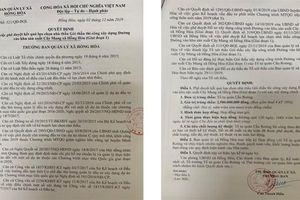 Về nghi vấn 'ưu ái' chấm thầu tại Quảng Bình: Tỉnh chỉ đạo, huyện đang nhanh chóng làm rõ