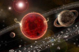 Phát hiện hành tinh 'địa ngục' có mưa sắt kỳ lạ