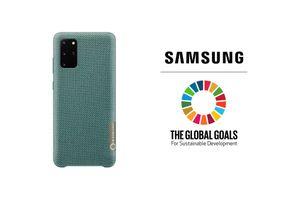 Samsung ra mắt ốp lưng nhựa tái chế cho Galaxy S20+