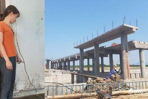Huế: Nhà dân vùng rốn lũ nứt toác vì công trình ODA thi công cách 20m