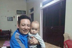 Bé trai 1 tuổi ở Thái Bình bị bỏ rơi tại chùa với nguyên nhân do gia đình lục đục