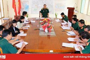 Chuẩn bị kết thúc thời gian theo dõi cách ly tập trung 233 công dân tại Trường Quân sự tỉnh An Giang