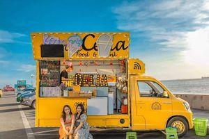 Loạt xe kem dọc bờ biển Vũng Tàu thu hút giới trẻ check-in