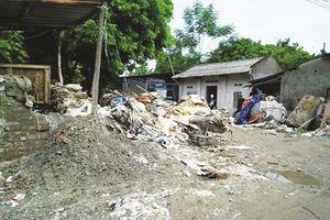 Ô nhiễm nguồn nước tại làng nghề Triều Khúc