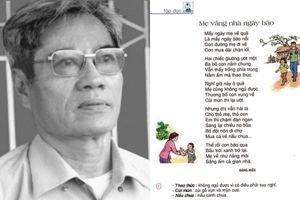 Tác giả bài thơ 'Mẹ vắng nhà ngày bão' qua đời